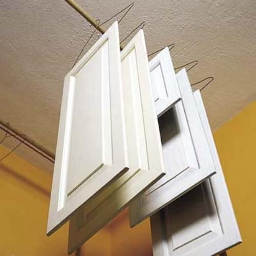 Painting Kitchen Cabinet Drain Painting Kitchen Cabinets  Drying Process In Painting Kitchen Cabinets     Steps on Painting Cabinets in Whit...