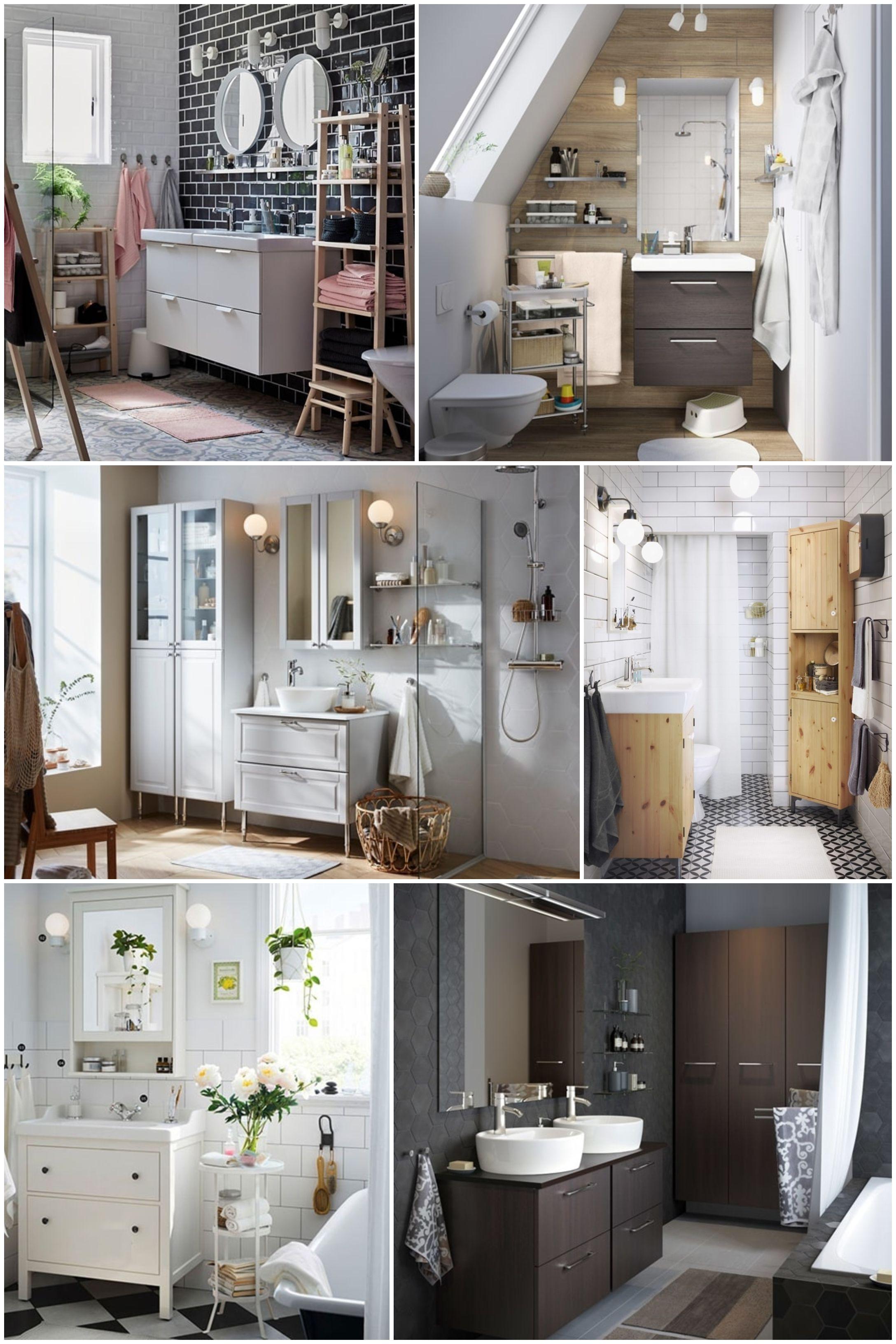 ▷ Cómo elegir los muebles de baño. Muebles de baño IKEA.   IKEA ...