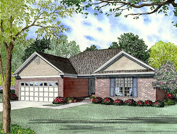 European   Traditional   House Plan 61296