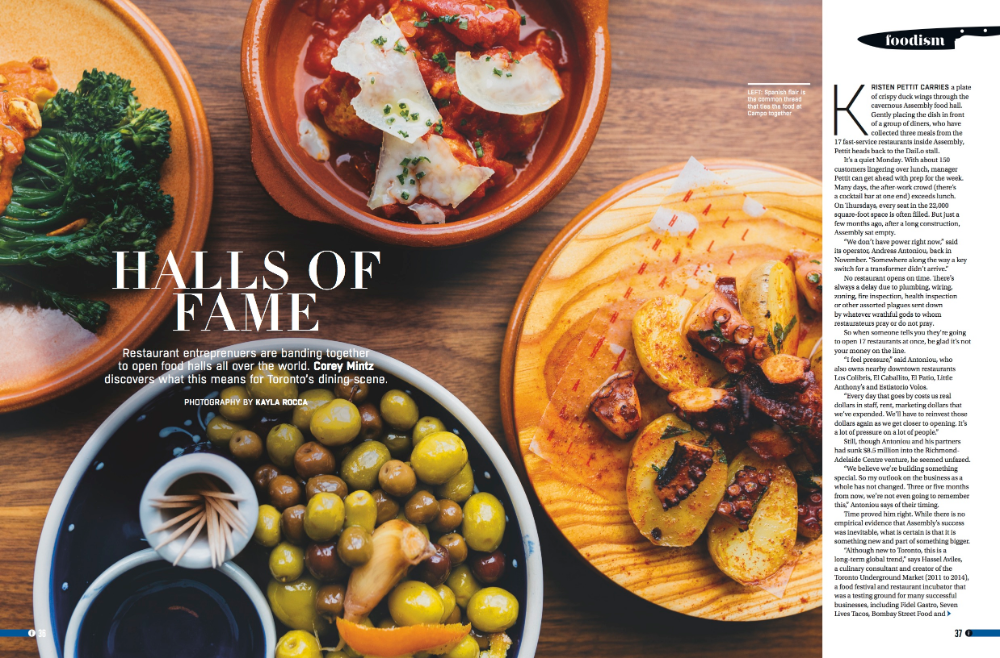 Foodism Magazine — KAYLA ROCCA