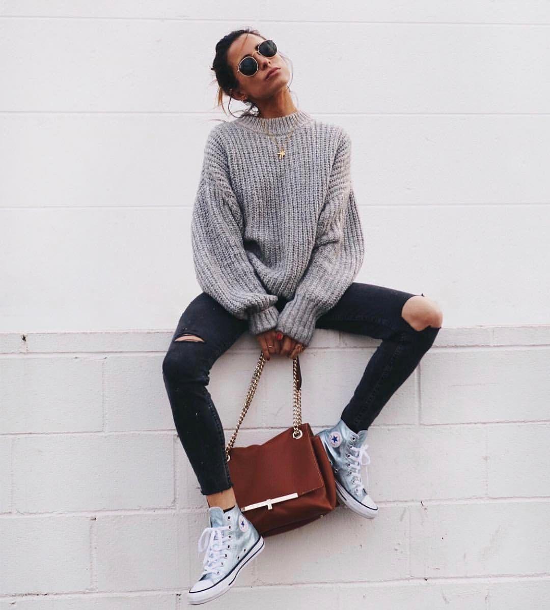 Sonbahar Moda Stiline Fransız Giyim Tarzı