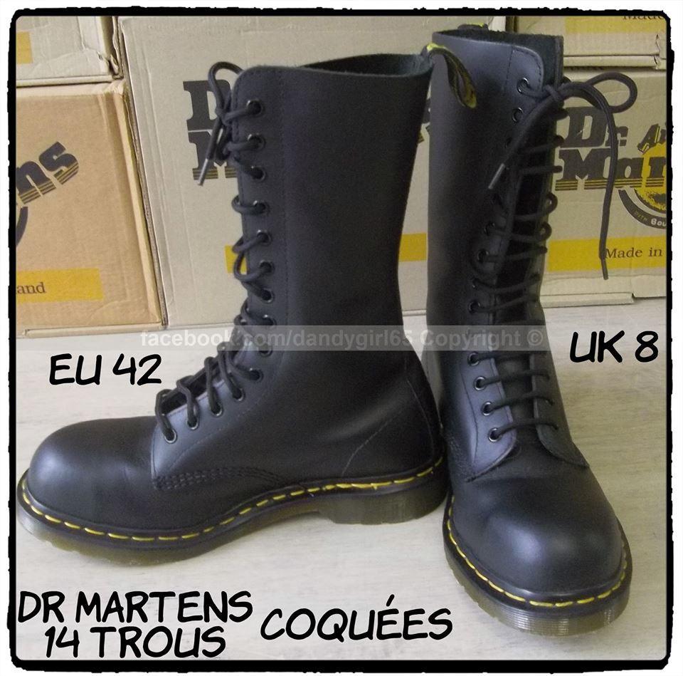 d188da434f5 Dr. Martens 14 trous uk8 eu 42 coquées quasi neuves  dandygirl65 ...