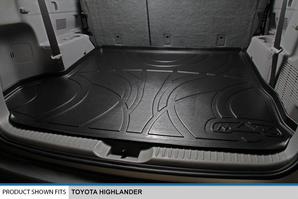 Smartliner All Weather Cargo Liner Floor Mat Behind 2nd Row Seat Black For 20142018 Toyota Highlander Learn More By Vis Cargo Liner Toyota Highlander Toyota