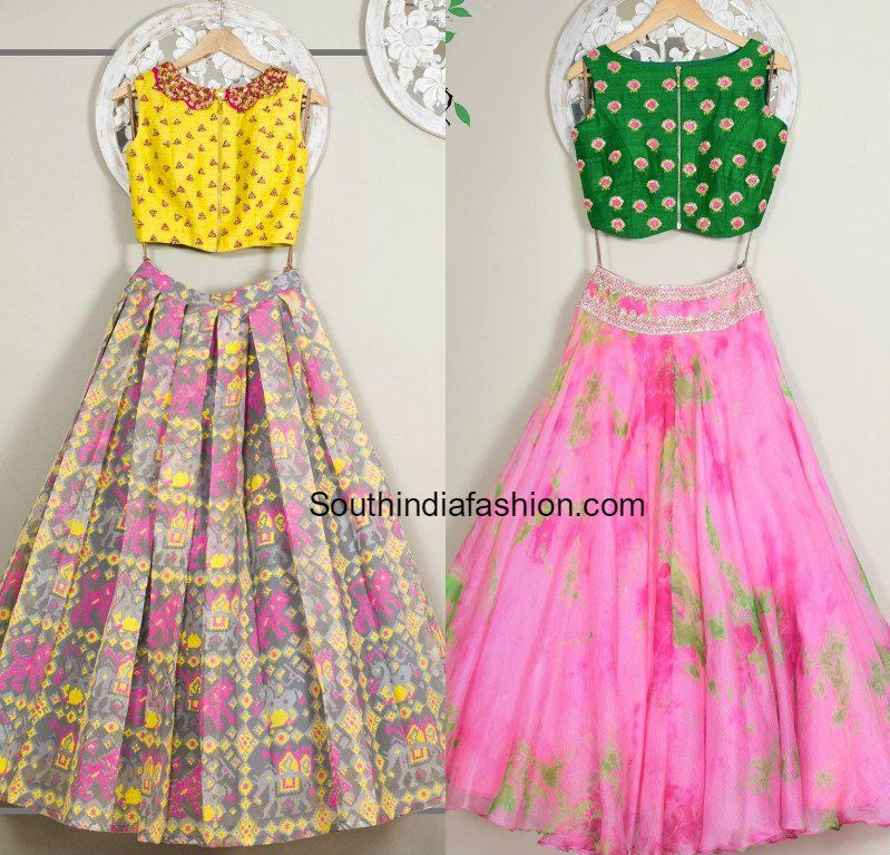 Designer Long Skirts and Crop Tops by Issa photo | Kids ...
