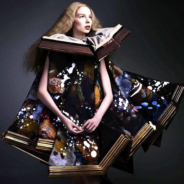 VIKTOR & ROLF https://www.fashion.net/viktor-rolf  #viktor_and_rolf #fashion #fashionnet #mode #moda #style #model #designer