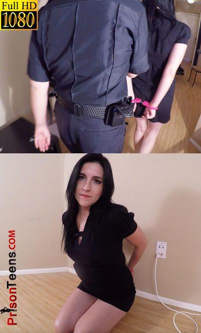 Very girls arrested handcuffs