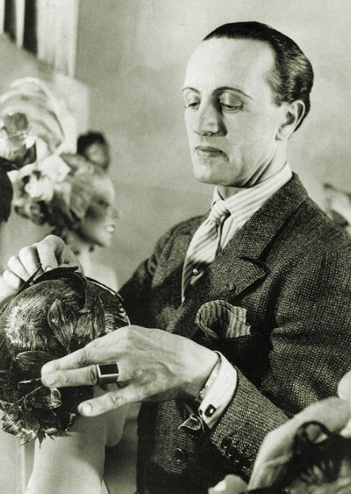 Antoine De Paris Known As Monsieur Born In Poland 1884 Was The World S First Celebrity Hairdresser