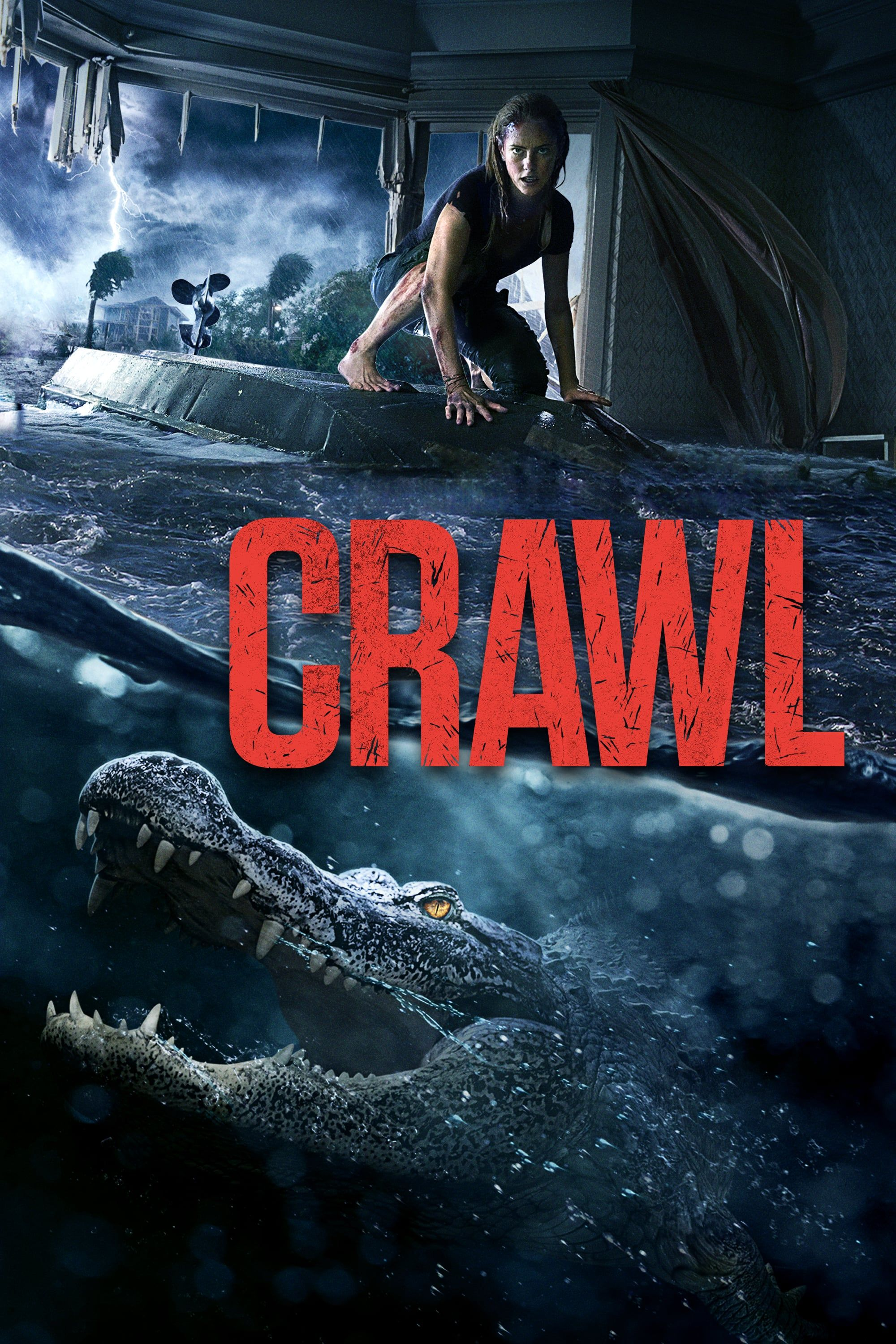 Ver Pelicula Crawl 2019 While Struggling To Keep Her Father At Some Point Of A Category Five Ty Films Complets Film Complet En Francais Film Streaming