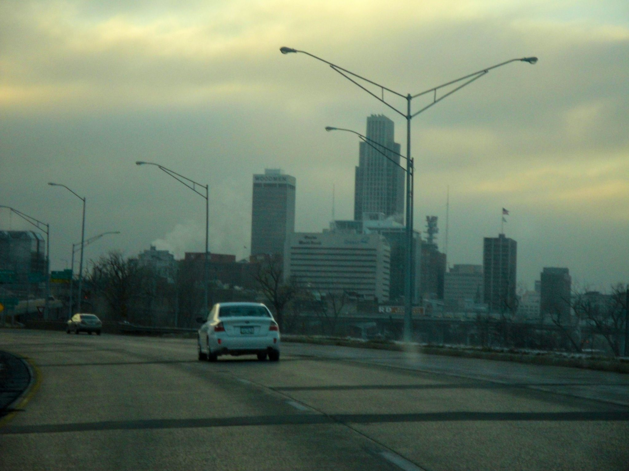 Omaha Nebraska where my parents live. Nice place to live, but just to cold for me.