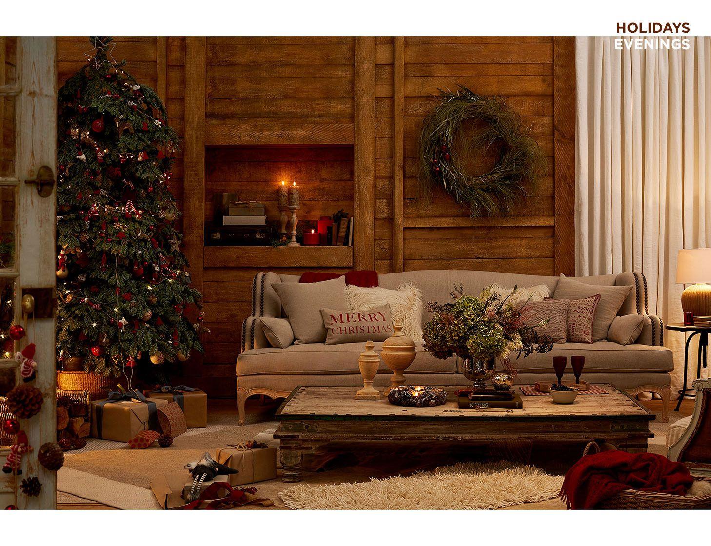 Decoración navideña al natural. Qué empiece la navidad! http://blgs ...