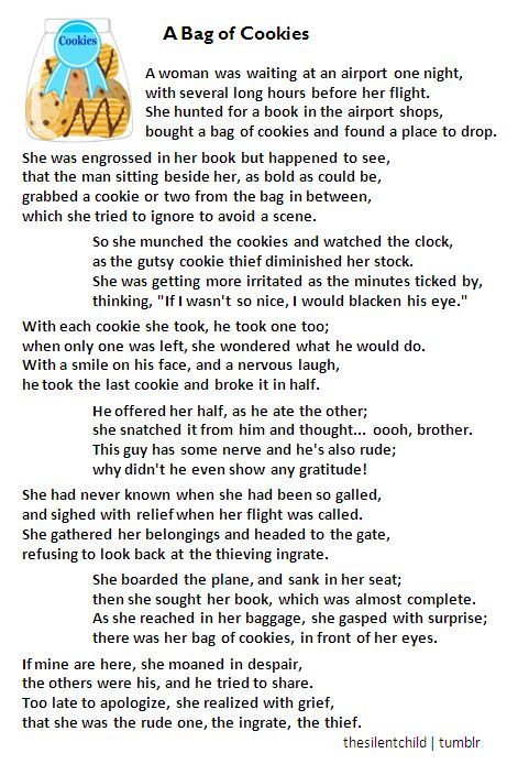 Short Poems About Cookies