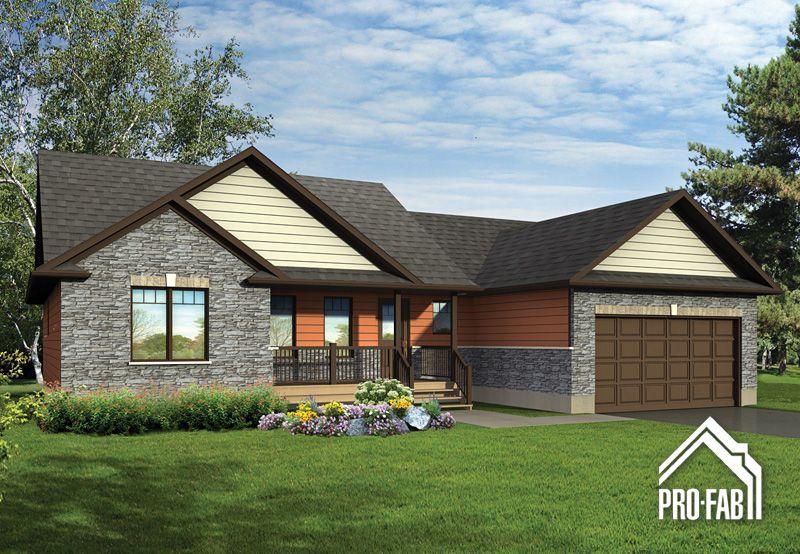 Pro-Fab Constructeur de maisons modulaires, usinées, préfabriquées - modele plan maison plain pied gratuit