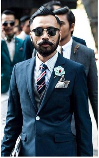 Wak Doyok Suits Blazers Waistcoats Mens Fashion Beard