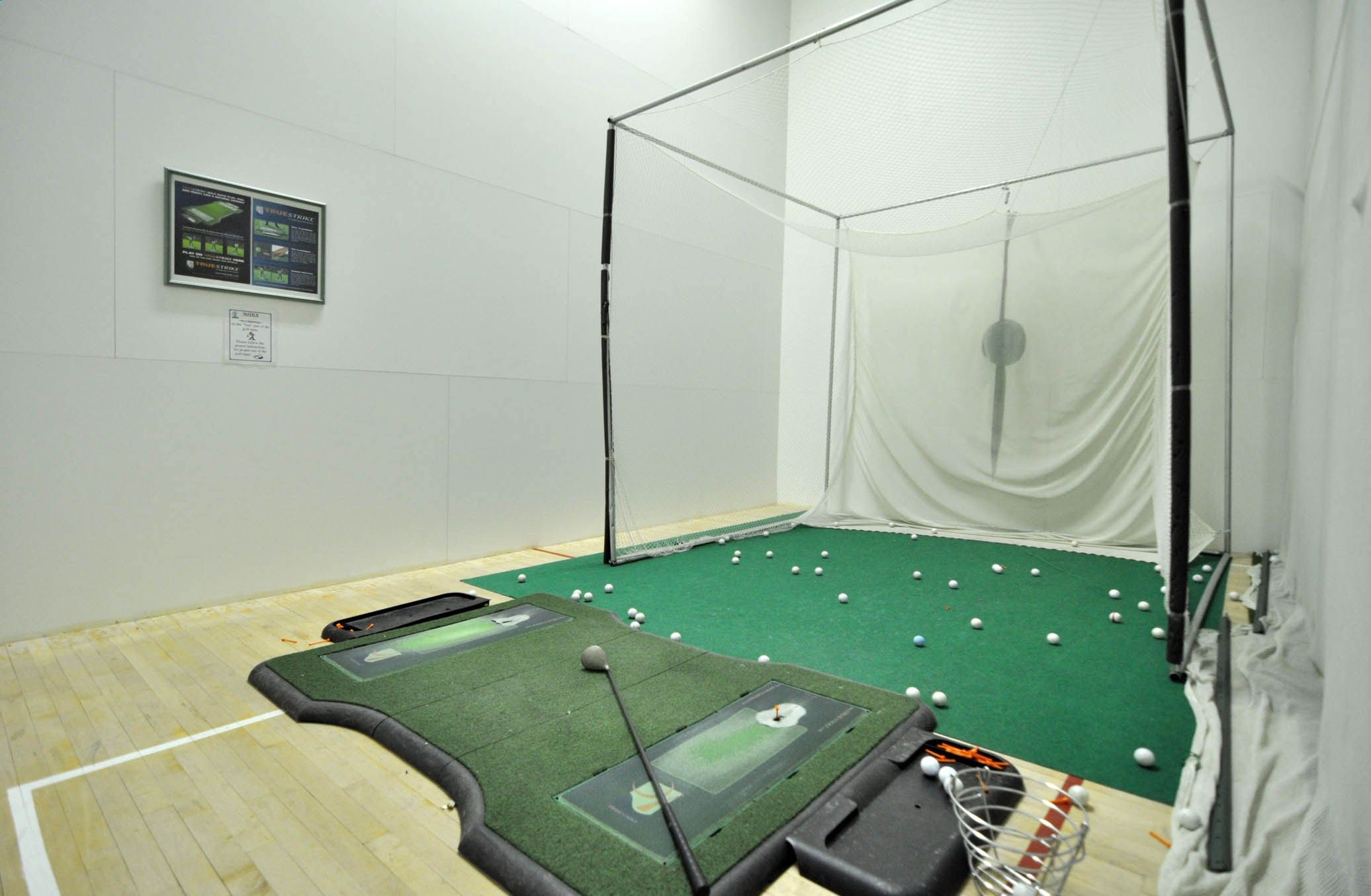 Golf Driving Range Pictures Of Indoor Home Driving Ranges Guests Palace Place Condominium Golf Room Golf Driving Range Golf Lessons