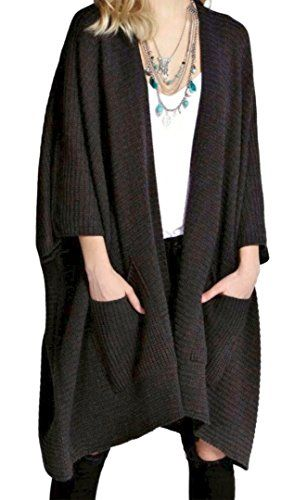 5c13c2f9657e3 Forever New Forever Womens Knitted Oversized Pocket Baggy Cardigan ...