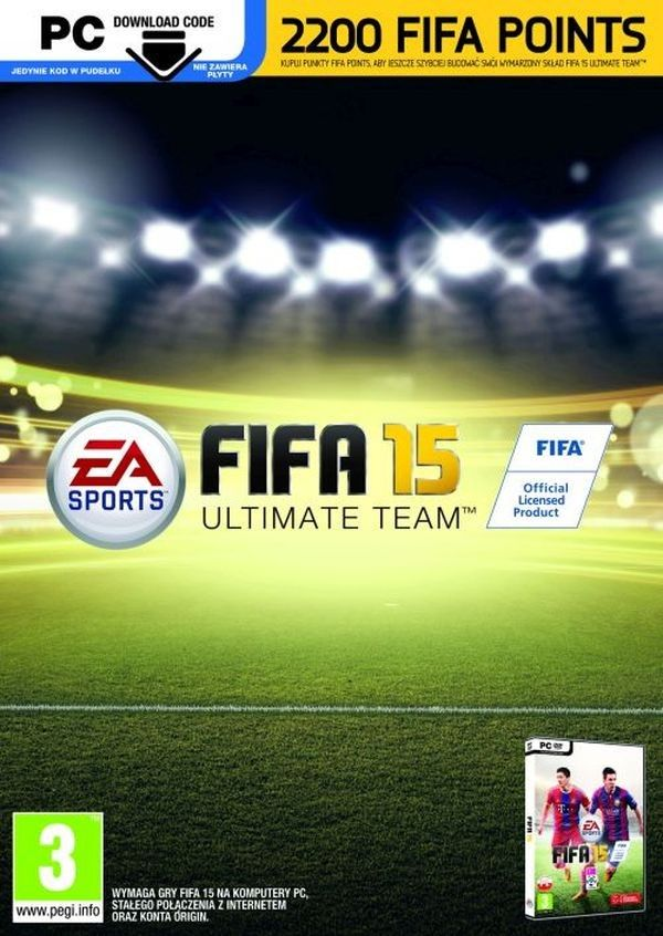 Fifa 15 2200 Punktow Ultimate Team Pc Sklep Komutery Puck Fifa 15 Fifa Teams