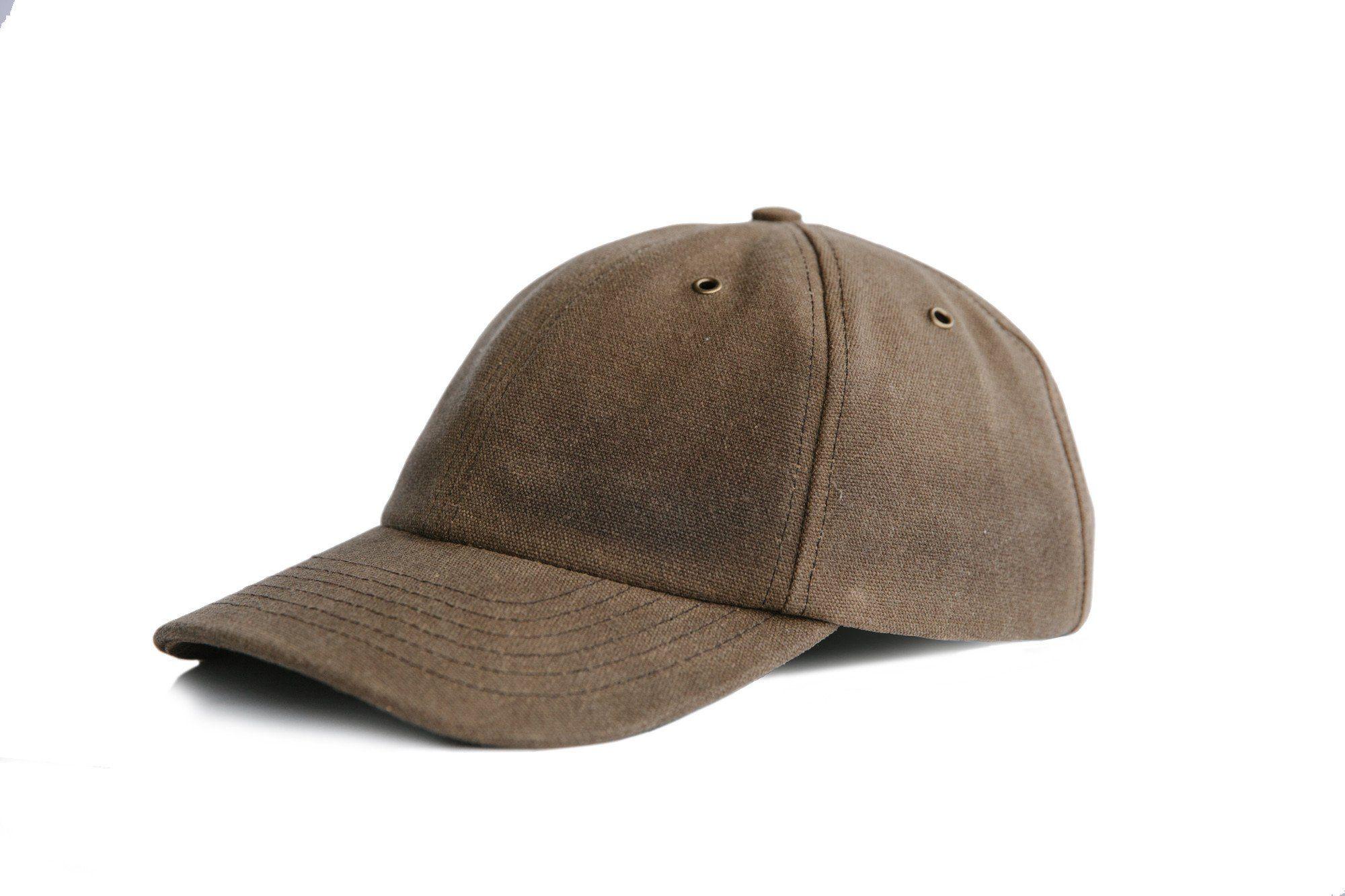 Waxed Canvas Baseball Hat - Moss -Preorder f68736e3f50