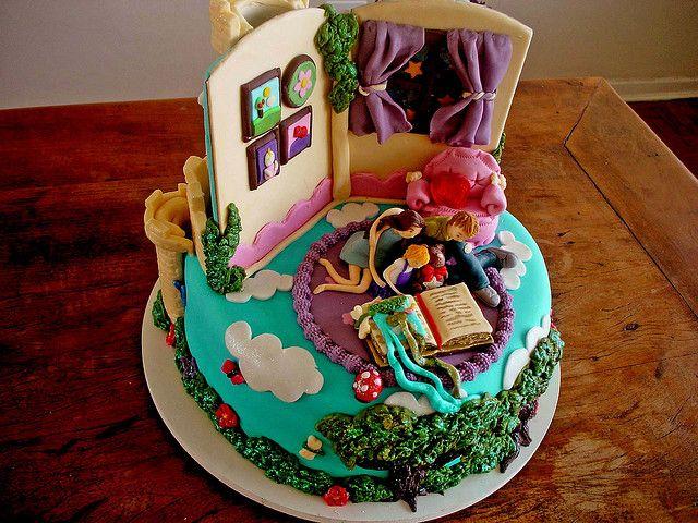 Bolo A Historia Sem Fim Neverending Story Cake By Carla Ikeda