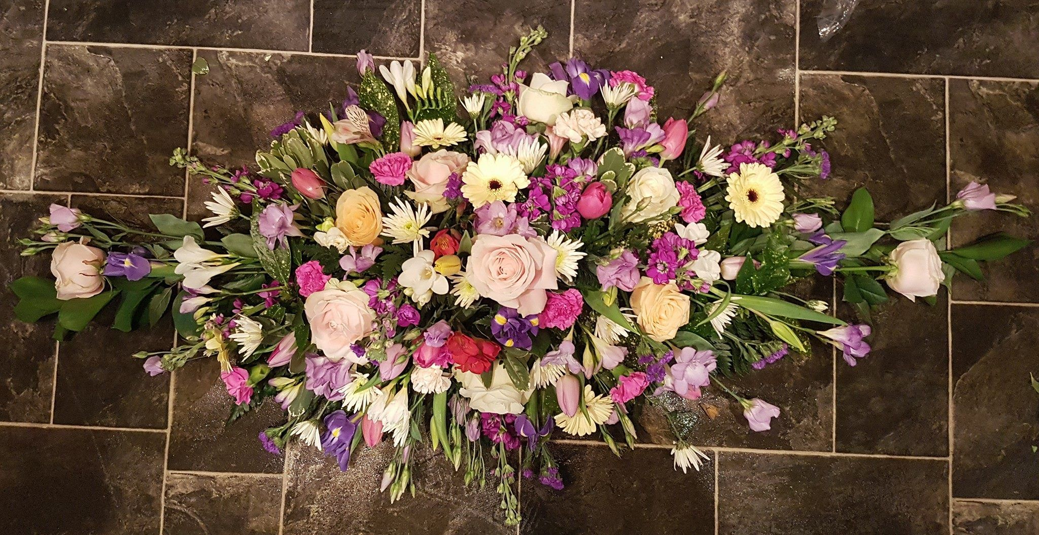 Funeral Flowers And Tributes In Carlisle Oopsie Daisy Flowers