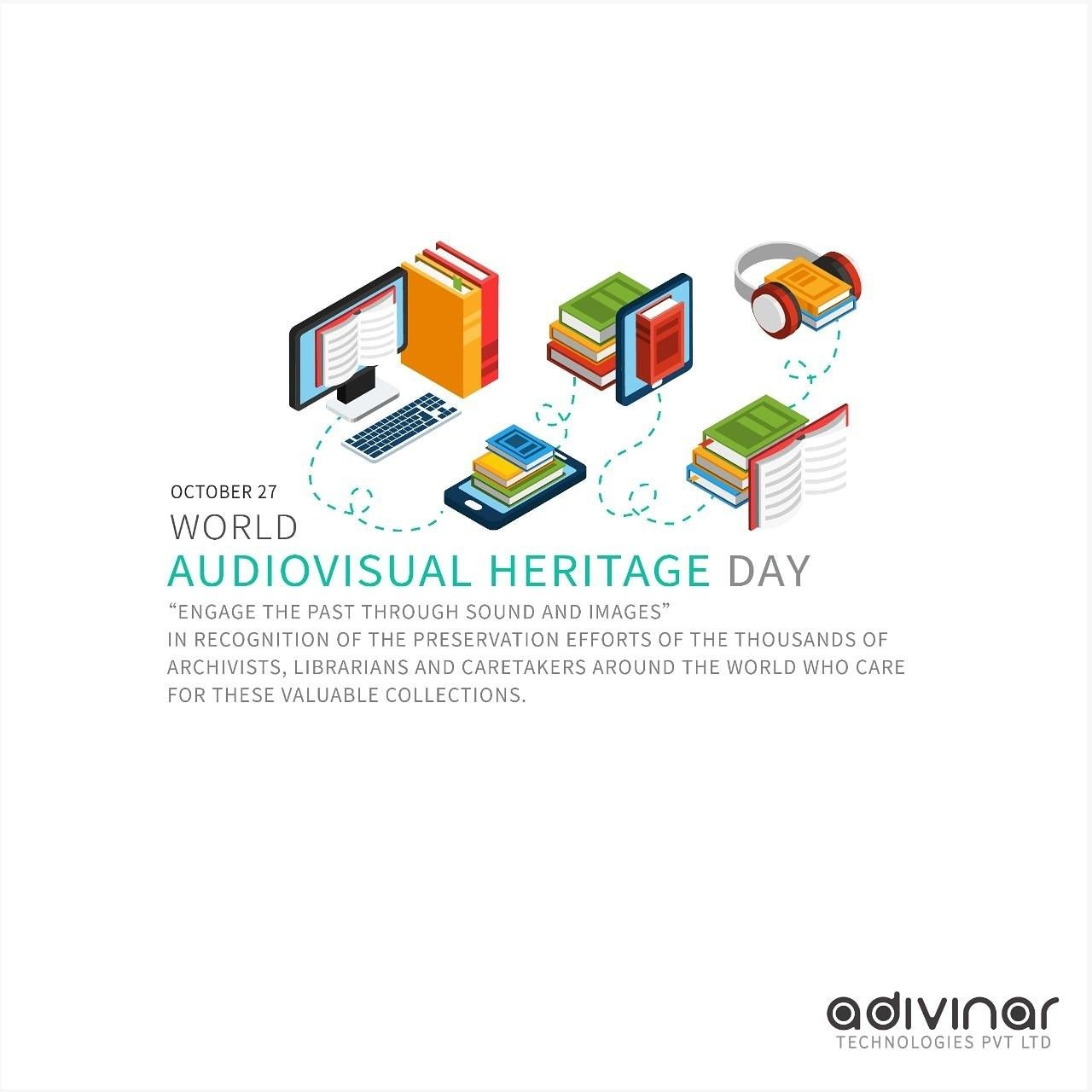 World Audiovisual Heritage Day Thiruvanathapuram Kerala Technologies Adivinar Adivinartec Ad Audi Heritage Technology