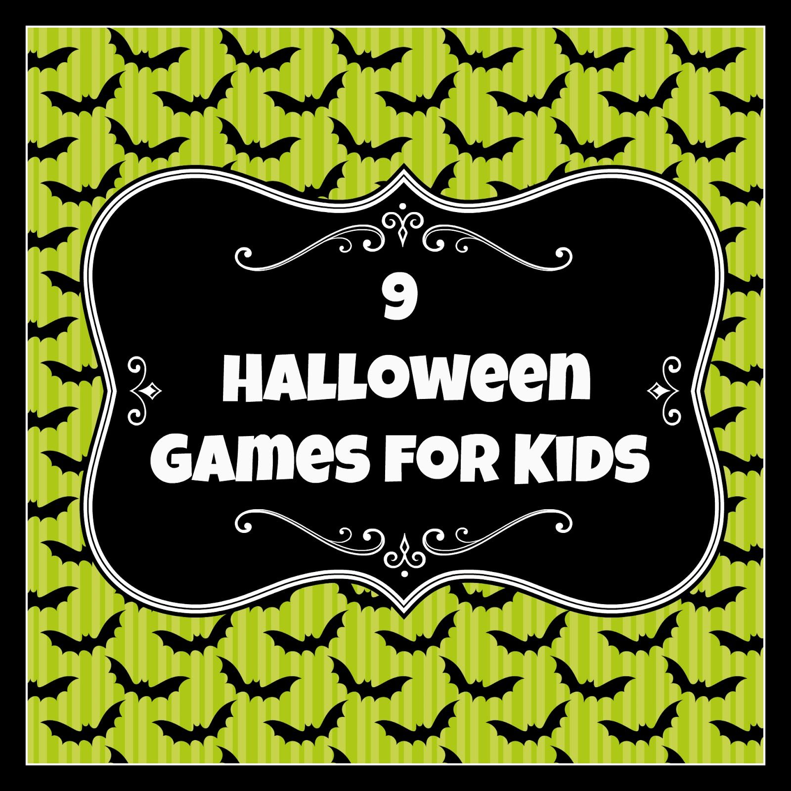 9 Halloween Party Games for Kids | crafts | Pinterest