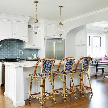 Perfect Image Result For Blue And White Bistro Counter Chairs