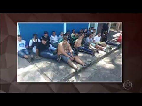 Briga de Torcida organizada no Clássico Palmeiras 1 x 0 Corinthians 03/0...