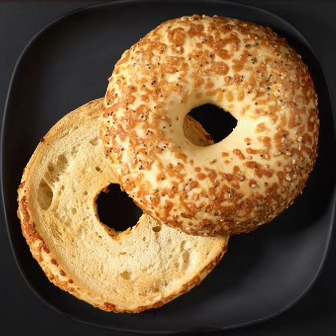 Check out this everything bagel with cheese from starbucks check out this everything bagel with cheese from starbucks fandeluxe Gallery
