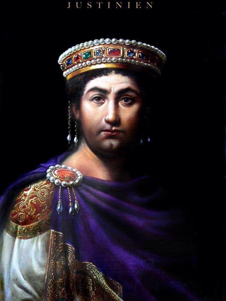Justinian Imperio Romano Pinturas Historicas