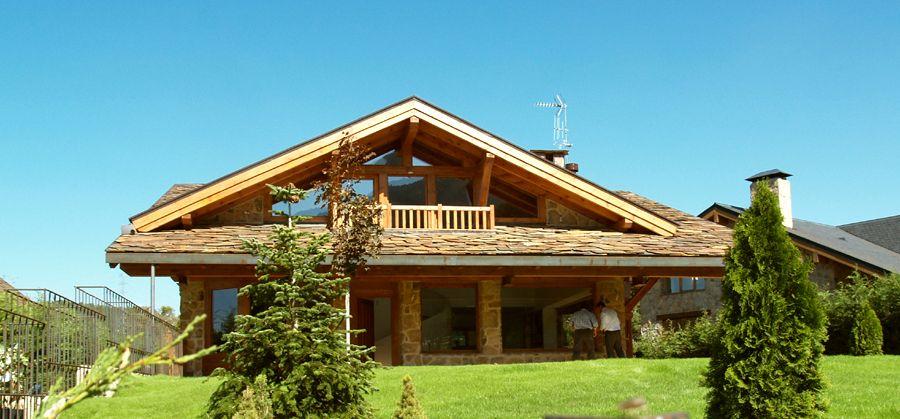 Casas modulares y prefabricadas de dise o casas de madera casas de madera casas casas de - Casas prefabricadas de diseno en espana ...