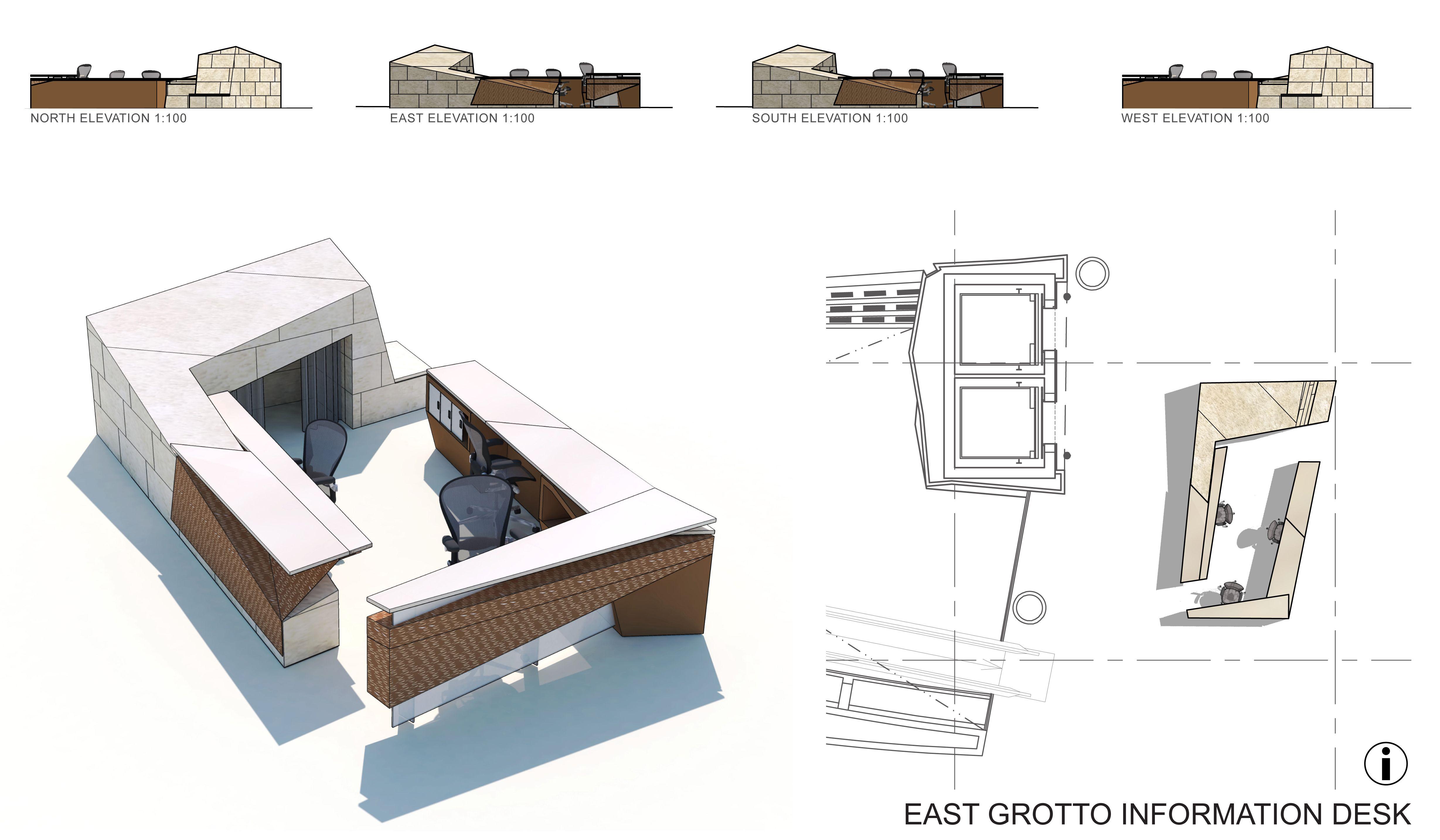 stratford city design google - Concierge Desk Design