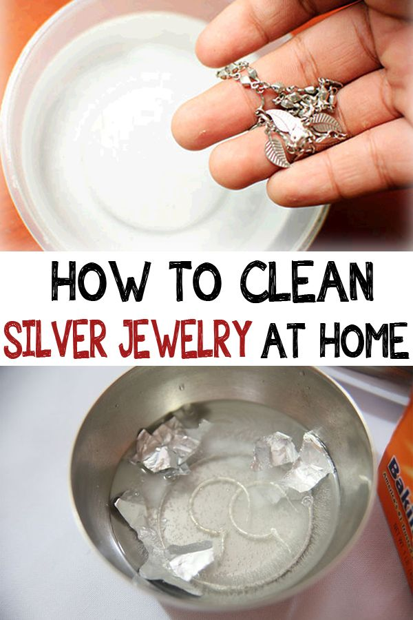 How To Clean Silver Jewelry At Home Cleaningisfun Cleaning Silver Jewelry How To Clean Silver Cleaning Jewelry
