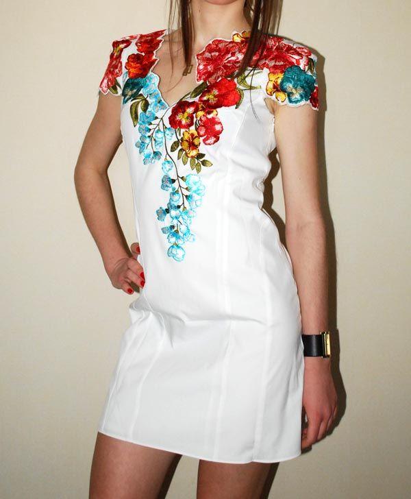 купить платья вышитые En 2019 Ropa Bordada Vestidos