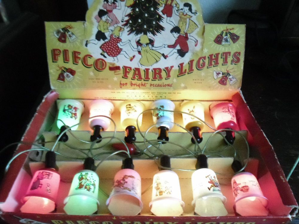 Vintage Pifco Christmas Boxed Fairy Lights