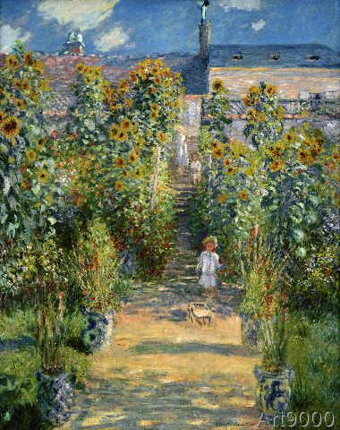 Claude monet le jardin de monet v theuil art pinterest monet claude monet and paintings - Les jardins de monet ...