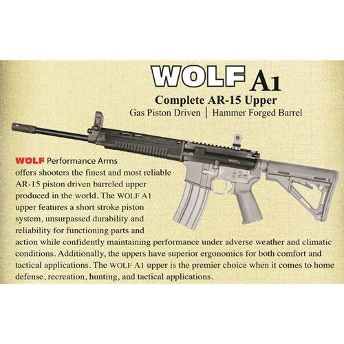 $599 95 - Wolf A1 223/5 56 AR-15 Complete Gas Piston Upper