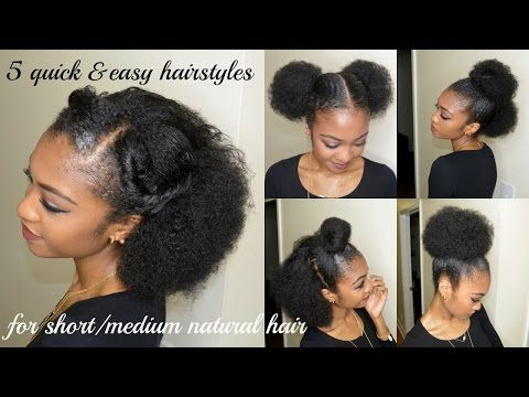 A Guide To Choosing Short Or Medium Hairstyles For Black Women Natural Hair Styles Medium Hair Styles Medium Natural Hair Styles