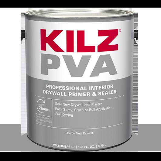 kilz pva drywall primer professional interior primer on dry wall id=40741