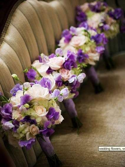 49+ Ideas For Wedding Decorations Purple Bridesmaid Bouquets #bridesmaidbouquets