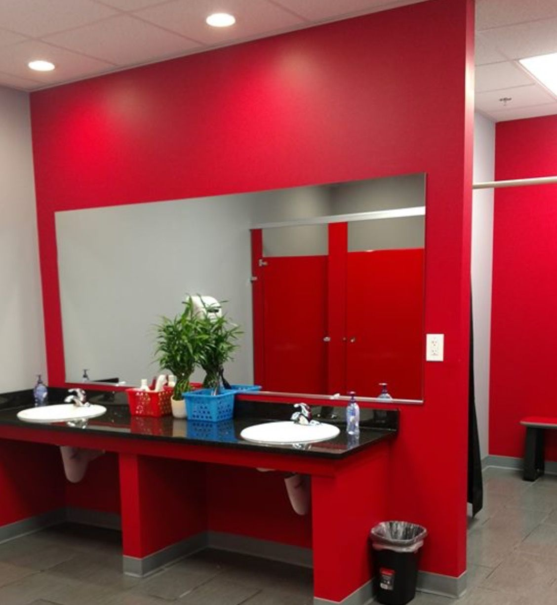 Vanity Areas Showers And Lockers In All Workout Anytime Locations