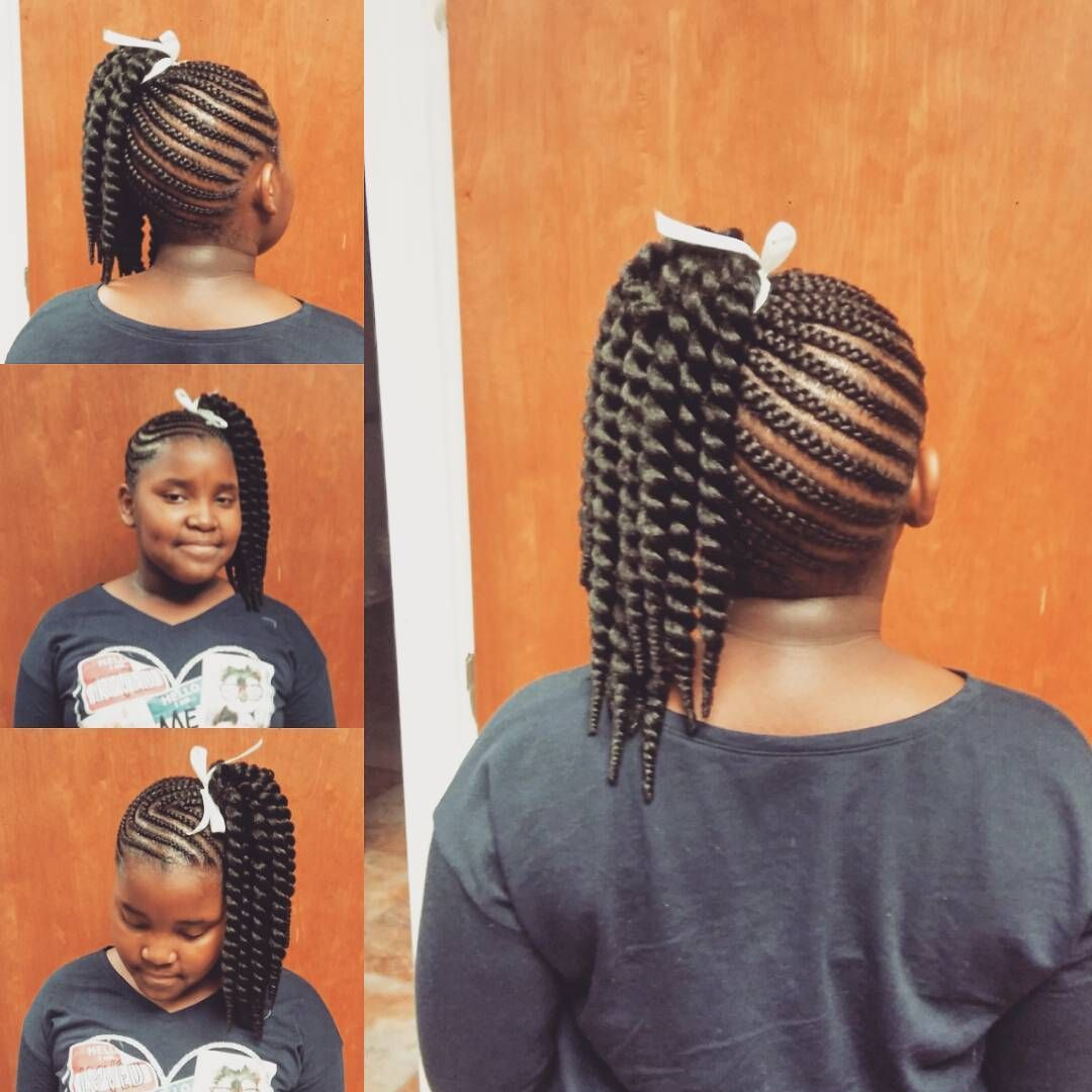 60 Styliosh Hairtyles With Braids For Kids €� From Box And Crochet Braids To  French And