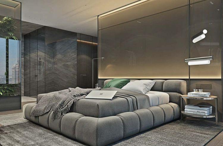Graue Möbel für eine elegante, monochrome Einrichtung im modernen - graue moebel einrichtung modern ideen