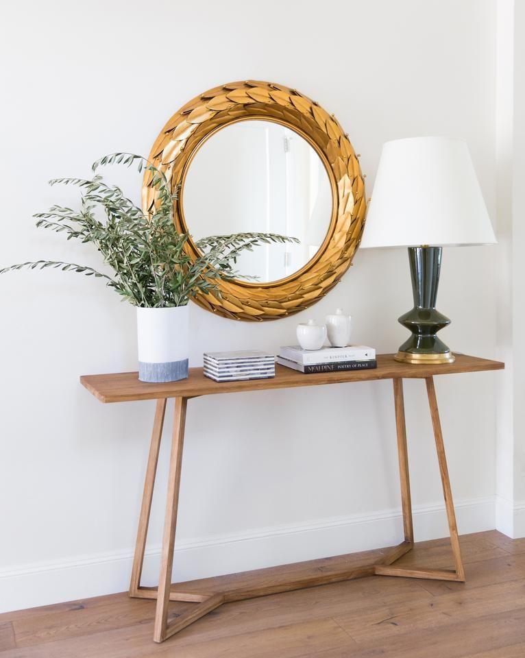 Corin Console Table In 2020 Foyer Decorating Home Decor Inspiration Home Decor