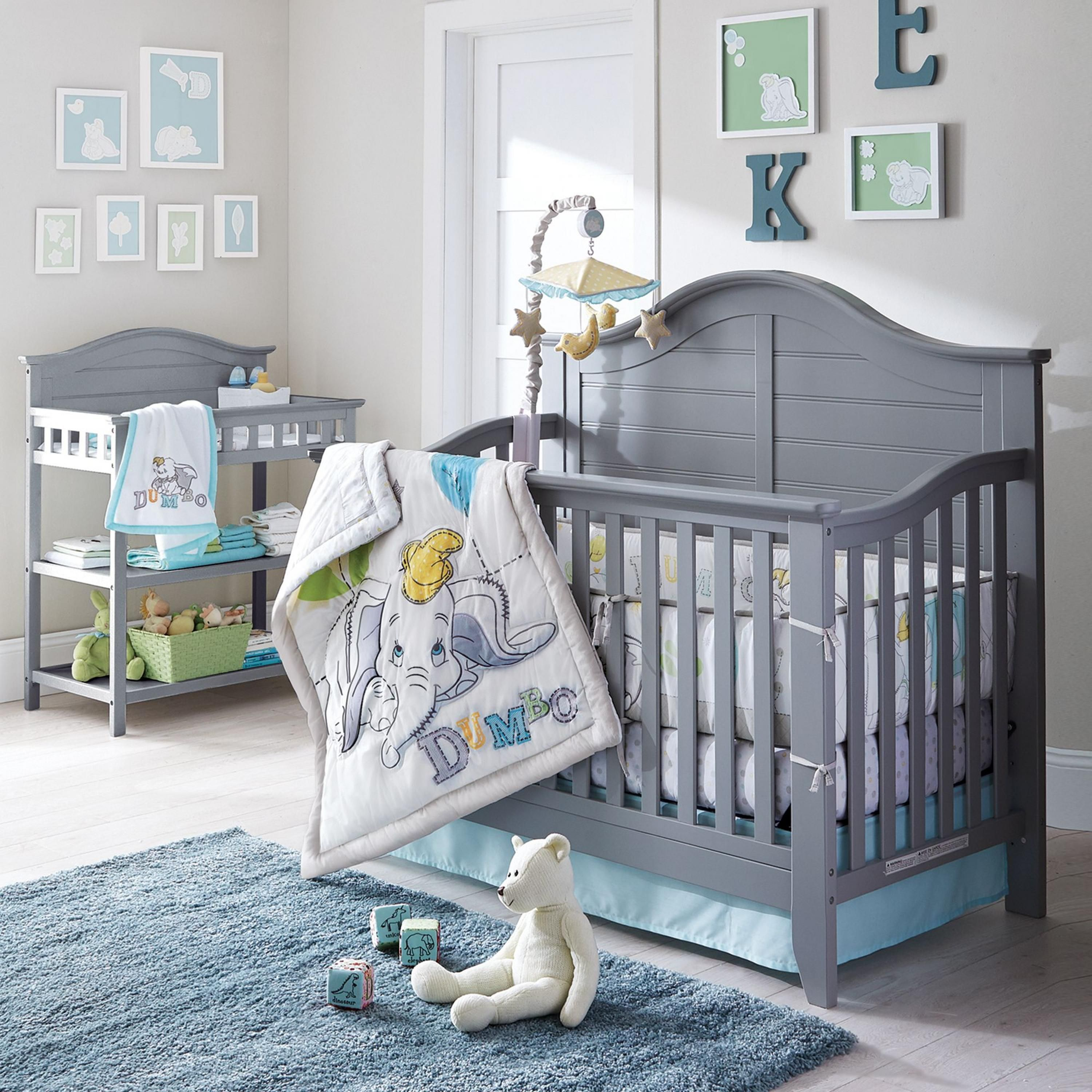 Buy Dumbo Oh So Cute Nursery Collection 6 Piece Bedding Set Online