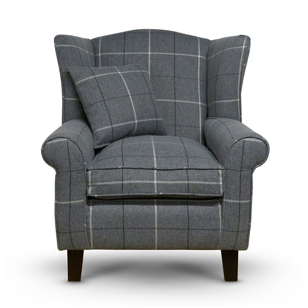 10 Most Popular Plaid Chairs Living Room