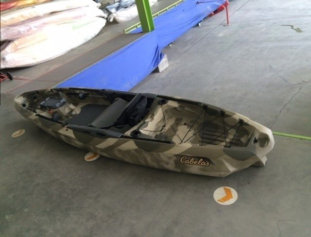 photos leaked of cabelas new fishing kayak kayak