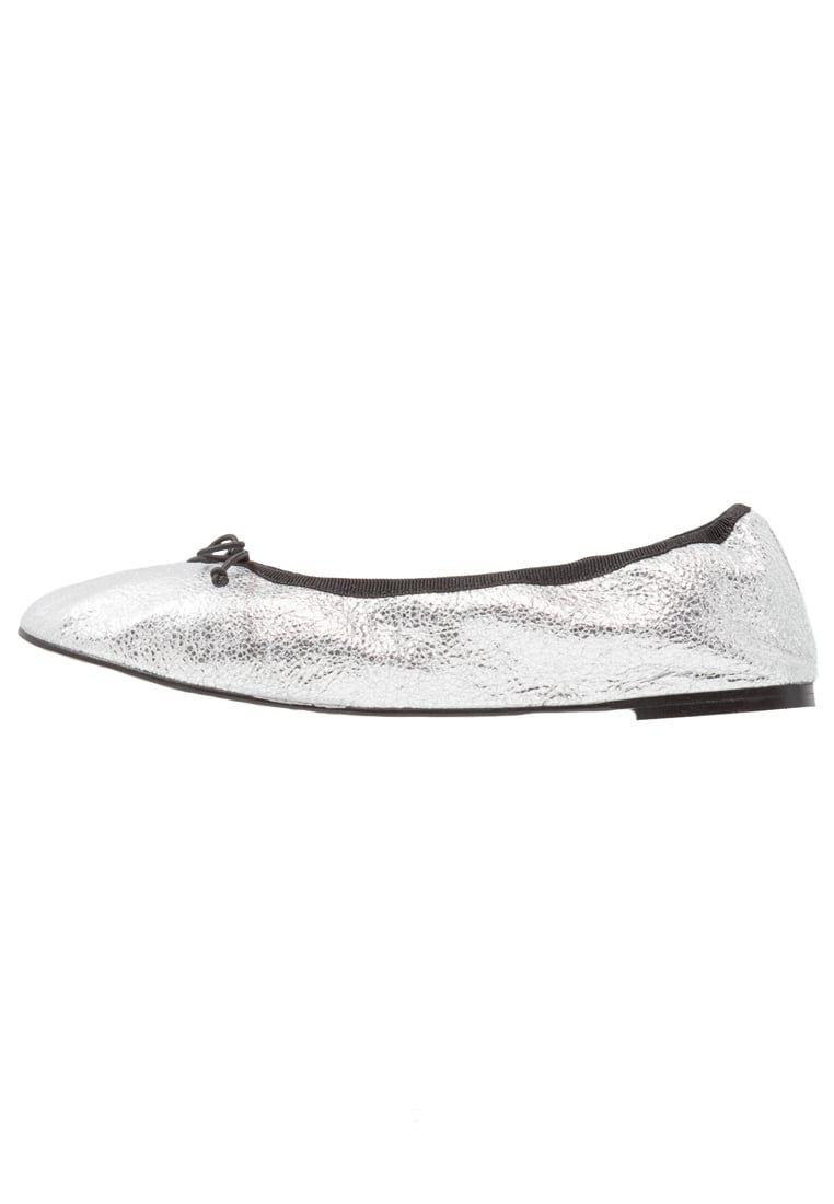 Topshop PLIE - Bailarinas silver sQQxOeP