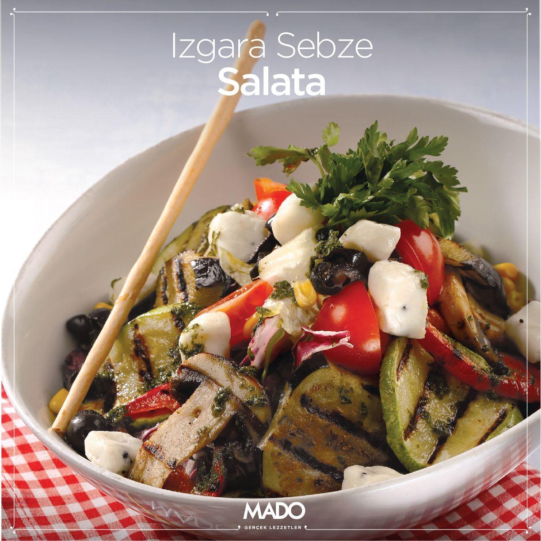 Izgara Sebze Salatası