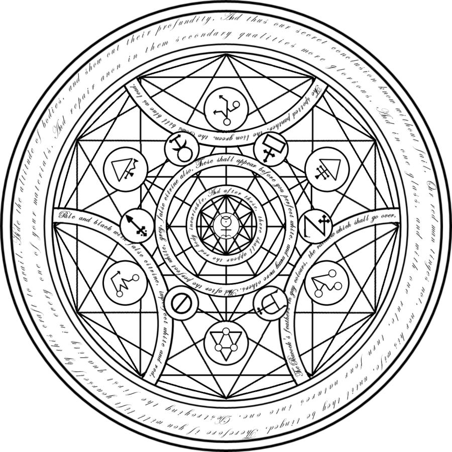 Human Transmutation Array 1 86 By Jxl60 Deviantart Com On Deviantart Magic Symbols Alchemy Symbols Transmutation Circle