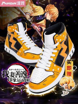 Anime Kimetsu no Yaiba Board Shoes Casual Shoes Student High Shoes Unisex   #fashion #clothing #shoes #accessories #men #mensshoes (ebay link)